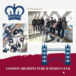 CIC Students Discover Architectural Beauties of London